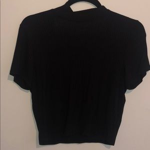 Charlotte Russe open back / turtle neck top